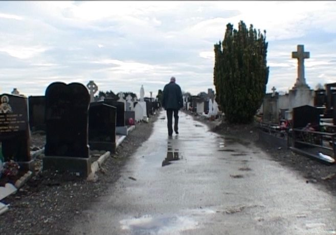 57 Dermot searching for his uncle's grave