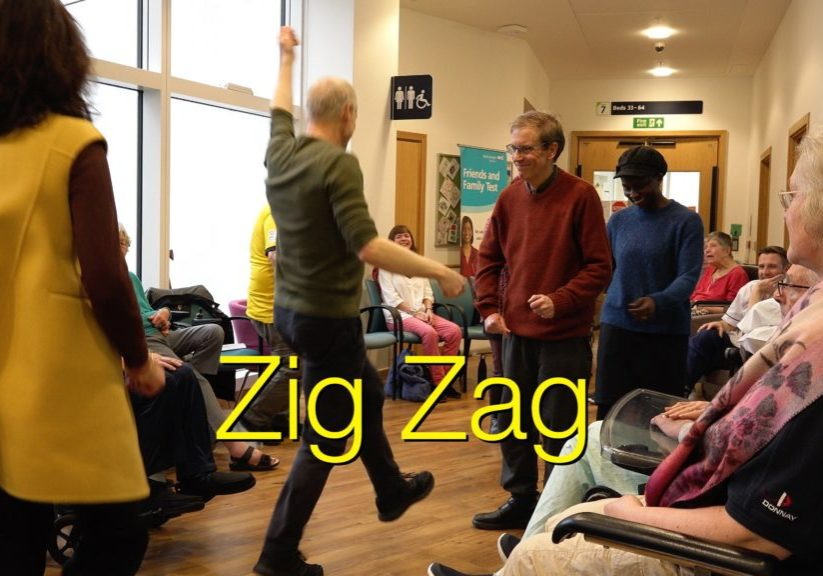 Stroke Odysseys on Brisol Southmead Stroke War. Jeremy leads the dance.